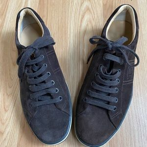Men's NWOT Suede Bally Shoes SIZE 9